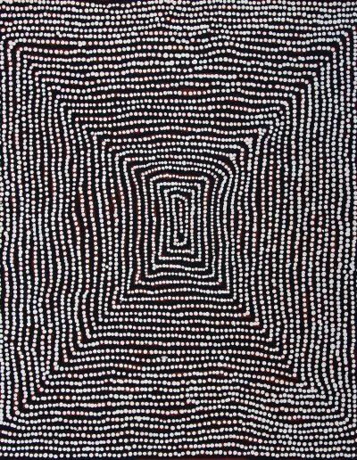 Charlie Tjapangati 61x55 VENDU Papunya Tula Artists