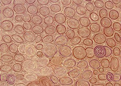 George Tjungurrayi 2002 150x180cm