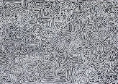 George Tjungurrayi 410 x 210 cm