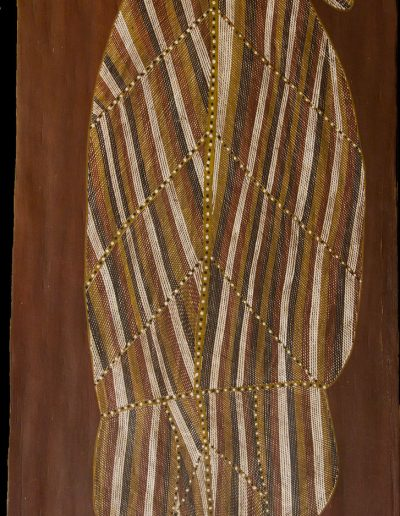 John Mawurndjul 135 x 61 cm 1990 Barramundi