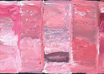 "Kudditji Kngwarreye ""My Country"" 138 x 60 cm"