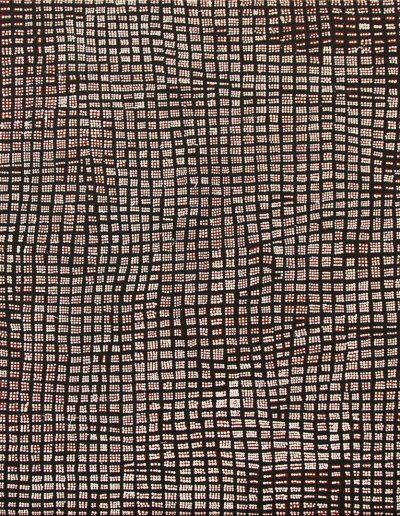 """Lorna Ward Napanangka 2003""""marrapinti"""" 122x122 cm"""