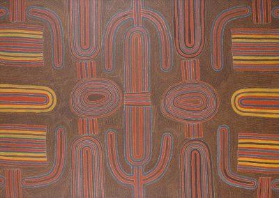 Louie Pwerle 1992 Ngookwala Cave 212x122cm