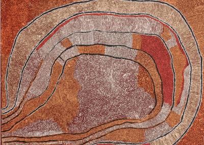 "Naata Nungurrayi (1932-2005)""Marrapinti"" 150x180 cm"