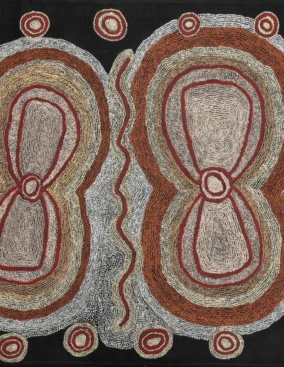 Paddy Lewis Tjapanangka (1943) 2006 - 120x150 cm