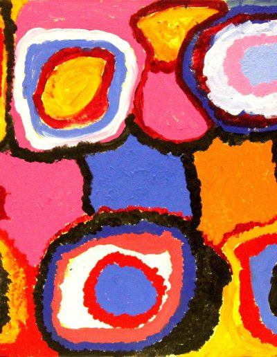 Sally Gabori 101x76 cm 2005