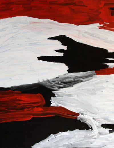 """Sally Gabori 2010""""dibirdibi country"""" 150x197 cm Mornington Island"""