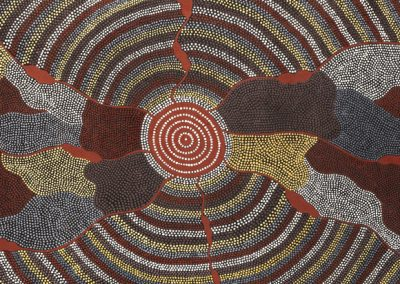 "William Sandy ""Bush Tucker Dreaming""1993 72x209cm"