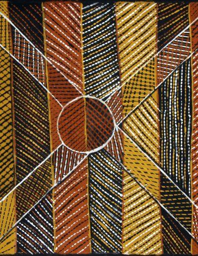 Pius Tipungwuti 337-04Buffalo 45x45cm