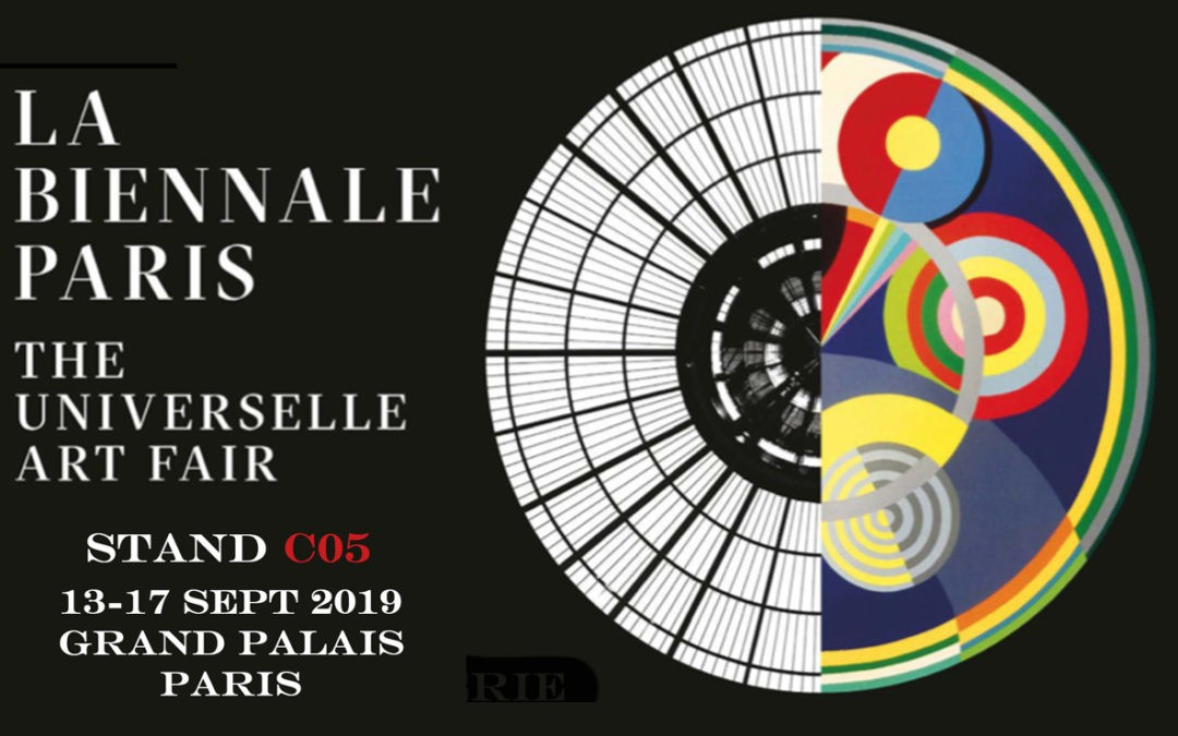 Biennale de Paris du 13-17 Sept 2019 Stand C05