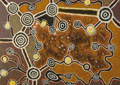 Jonathan-Kumintjarra-Brown-71x92-cm