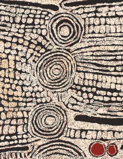 Ningura Napurrula année 2009 - 120x90cm -Papunya Tula Artists VENDU