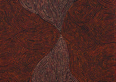 Richard Yukenbarri Tjakamarra 46x91cm (Papunya Tula Artists)